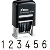 Plastic Number Stamp (Economy)