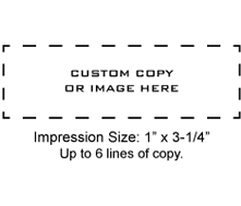 MAXSTAMP-SI45 - MaxStamp SI-45 Self-Inking Stamp